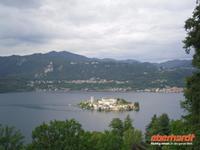 Blick auf die Insel Orta San Giulio