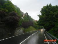 Regen auf der Heimreise...