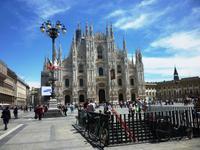 02.06.2013 Mailand Piazza Duomo
