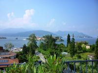 06.06.2013 Blick von der Terrasse auf Stresa