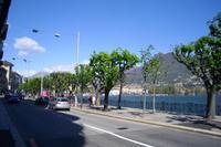 Promenade in Lugano