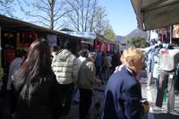 Besuch des Wochenmarktes in Omegna