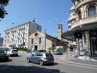 Lugano Chiesa Santa Maria Degli Angioli