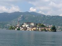 San Giulio von Orta aus
