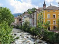 Bruneck mit Rienz