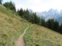 vom Monte Rite zum Cibiano Pass