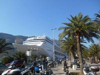 Montenegro (MSC Opera im Hafen von Kotor)