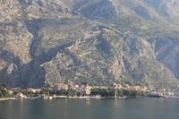 Ausfahrt von Kotor