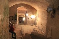 Höhlenwohnung in Matera