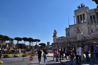 414 Rom, Venedig Platz mit Blick zum Cäsar Forum