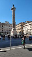 420 Rom, Säule des Marc Aurel un Colonna Platz
