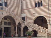 Verona_Palazzo_Comunale_Freitreppe