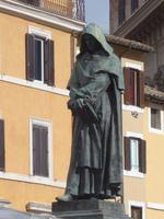 Denkmal am Campo di Fiori  - Giordano Bruno