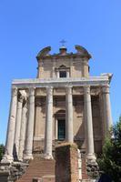 Der Tempel  des Antoninus Pius und seiner Frau Faustina