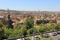 Blick vom Garten der Villa Medici