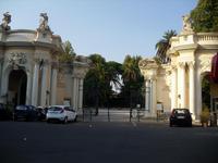 Eingang Zoo im Park Villa Borghese