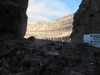 Blick ins Colosseum