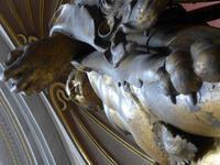Herkules Bronzestatue Vatikanisches Museum