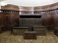 Besichtigung der Engelsburg (Sala del Tesoro)