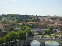 Blick auf Tiber