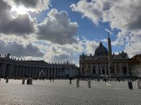 Die Basilika Sankt Peter im Vatikan in Rom