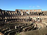 004 Innenbesichtigung im Kolosseum