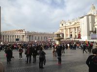 196 Palmsonntag auf dem Petersplatz