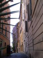 Spaziergang von der Engelsburg zur Piazza Navona (Seitengasse der Via dei Coronari)