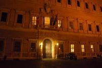 Rom bei Nacht (Palazzo Farnese)