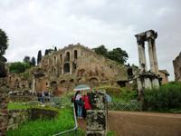 Forum Romanum, Vestatempel Rom 2013