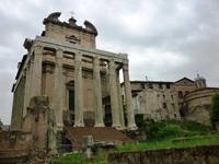 Forum Romanum Tempel des Antonius Pius und der Faustina Rom 2013