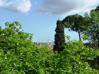 Blick auf das Nationaldenkmal vom Pincio-Hügel Rom 2013