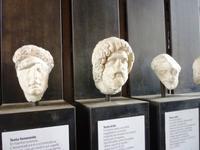 23.05.2013 Kolosseum Rom, Portraitplastiken