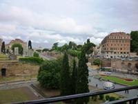 23.05.2013 Rom, Blick auf das Forum Romanum
