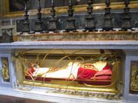 Besichtigung der Peterskirche (Grab von Papst Johannes XXIII.)