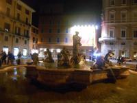 Lichter-Spaziergang (Piazza Navona - Mohrenbrunnen)
