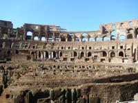 Die erste Station unsere Stadtführung durch das antike Rom: Das Kolosseum