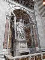 Eine Statue der heiligen Helena, Mutter von Konstantin dem Großen