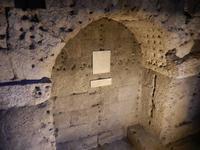 Die Engelsburg besichtigten wir direkt nach de Petersdom. Einst war die Burg das Mausoleum des römischen Kaisers Hadrian, hier die Grabkammer
