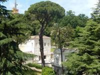 Aus der Galerie der Landkarten konnte man auch den ein oder anderen Blick in die Gärten des Vatikans erhaschen