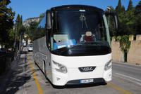 Sonnenschein Reisen - Bus auf unserer Tour