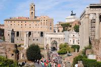 Forum Romanum - Gesamtanlage