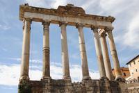Formum Romanum - Reste Tempelanlage