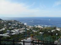 Insel Capri (Ausblick von Capri-Zentrum)
