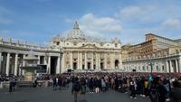 Rom (Papst-Ausdienz am Petersplatz)