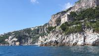 Bootsfahrt entlang der Amalfiküste