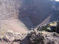 Krater des Vesuv