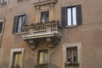 unterwegs in der Altstadt Roms ...
