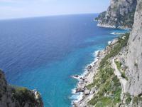 auf der Insel Capri ...