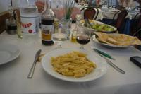 Pasta-Abendessen im Restaurant